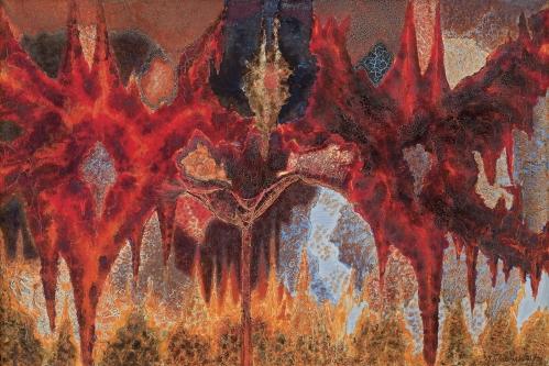 Jerzy Tchórzewski - SACRUM, 1971-1972 sprzedany w Agra-Art