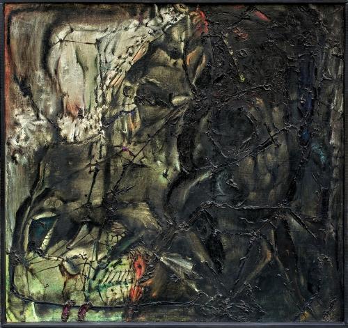 Tadeusz Brzozowski - MYTO, 1963 sprzedany w Agra-Art