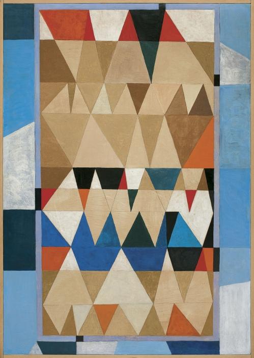Jerzy Nowosielski - KOMPOZYCJA ABSTRAKCYJNA, 1969 sprzedany w Agra-Art